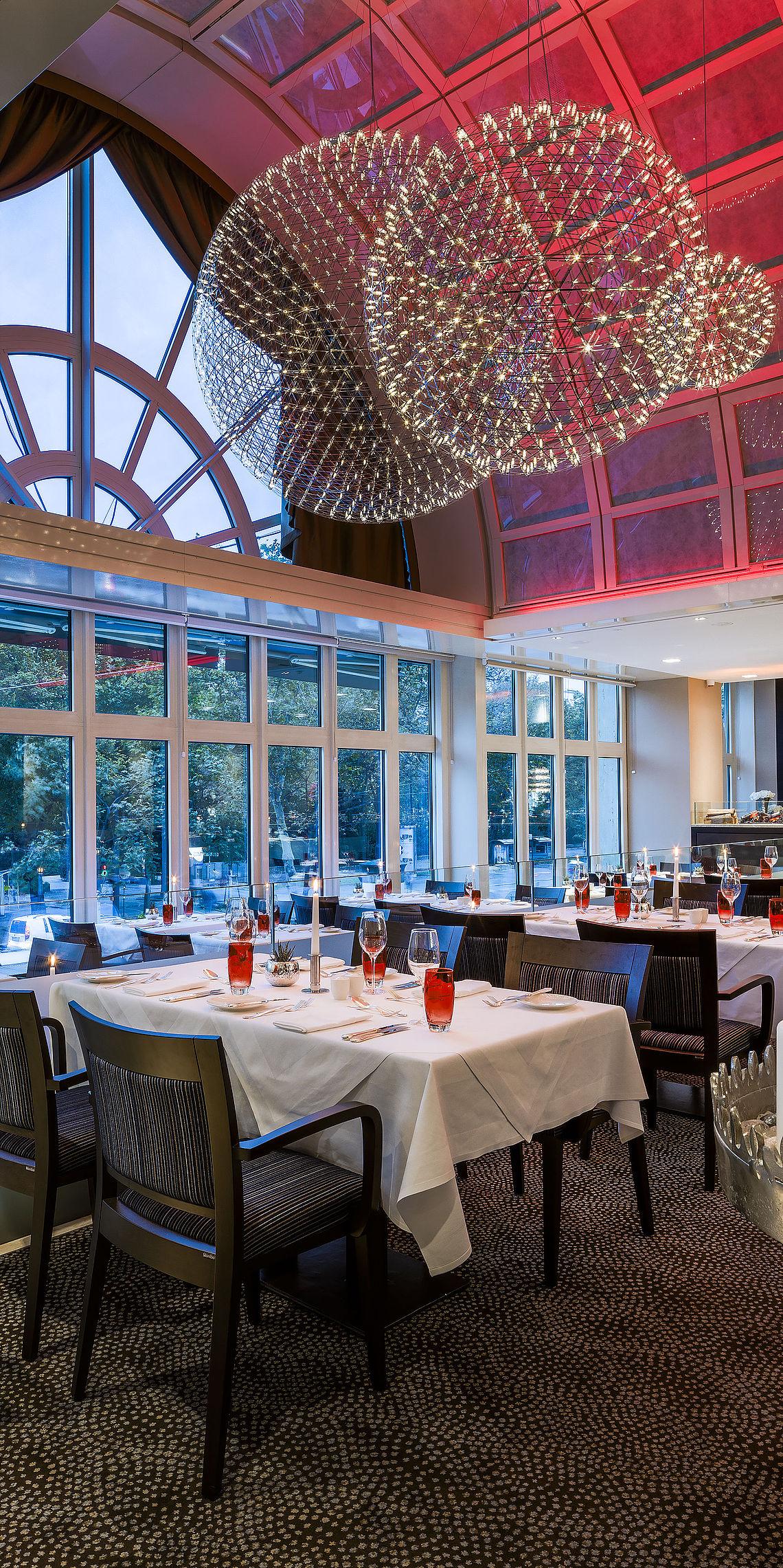 Parkring Restaurant im Vienna Marriott Hotel