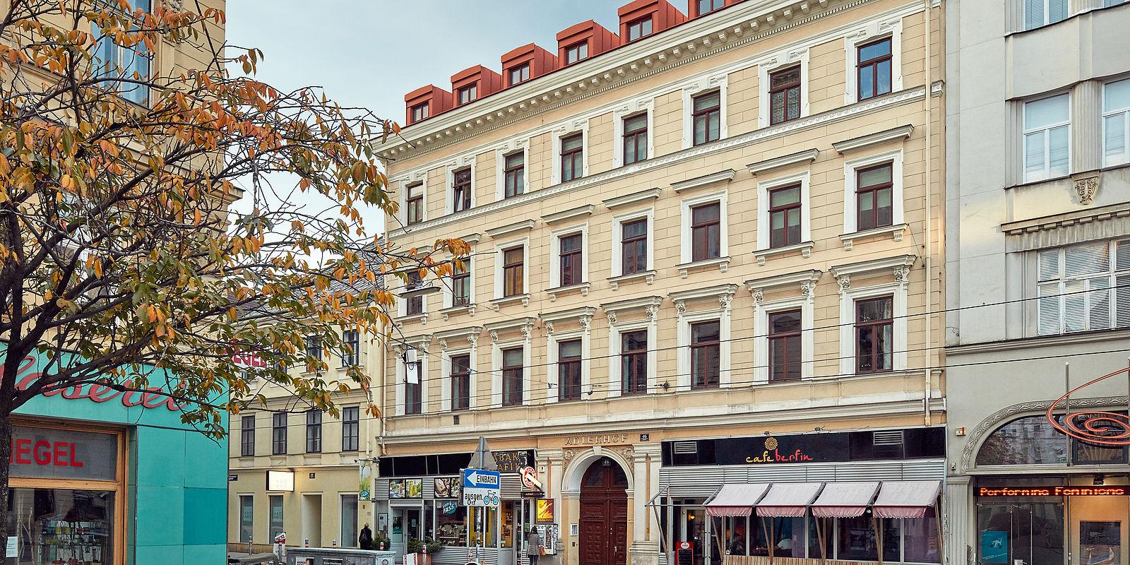S IMMO residential building Adlerhof in Vienna