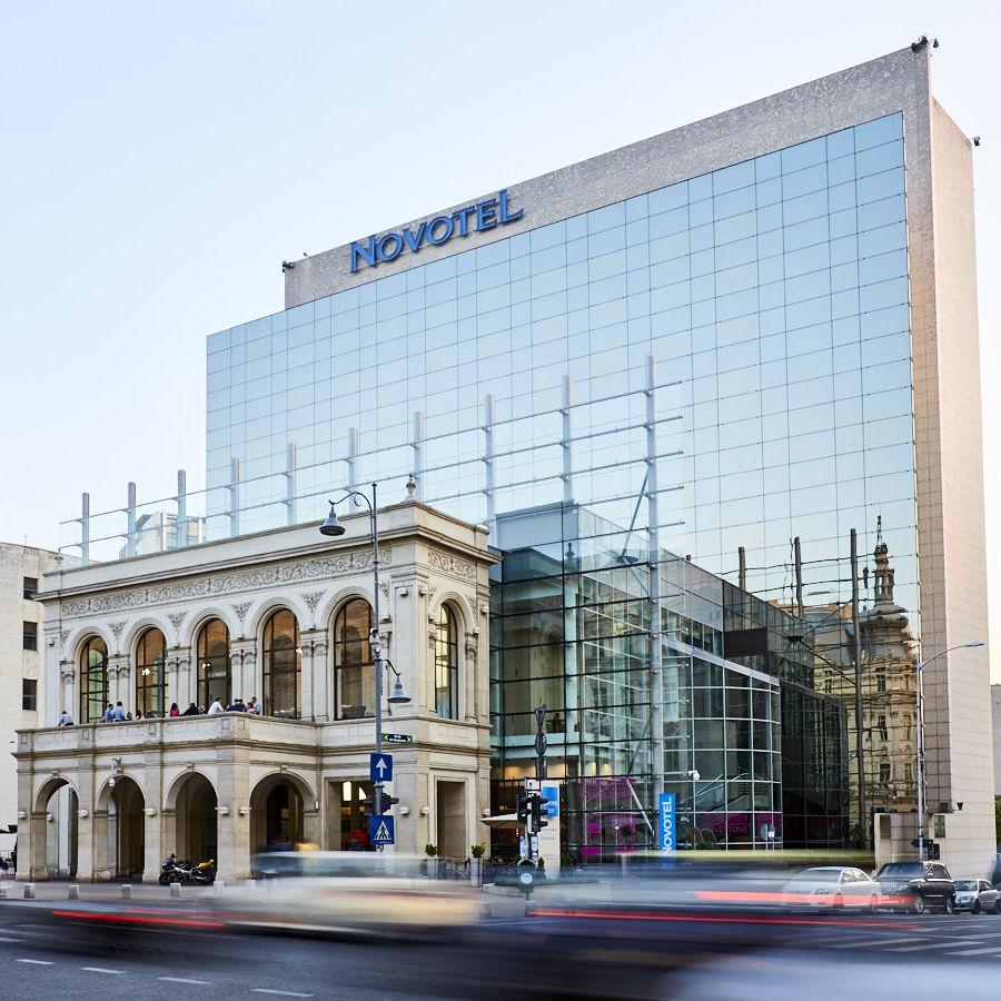 Exterior view Novotel Bucharest