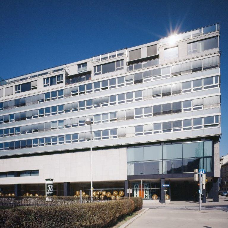 Seitenansicht Akademiehof - Sitz der S IMMO AG in Wien