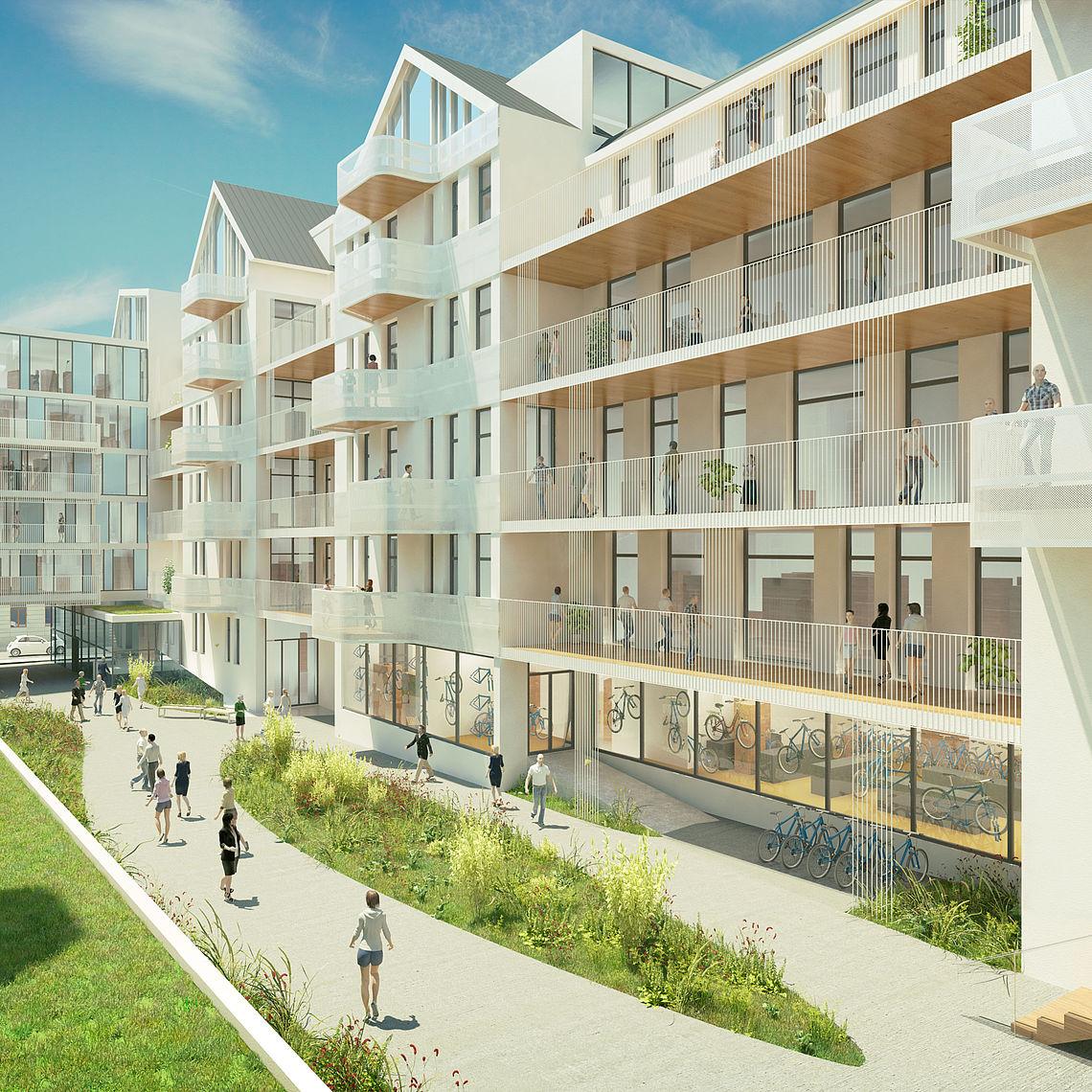 S IMMO Entwicklungsprojekt Siebenbrunnengasse in Wien