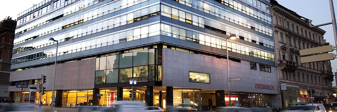 Akademiehof in Vienna; Office property and headoffice of S IMMO AG