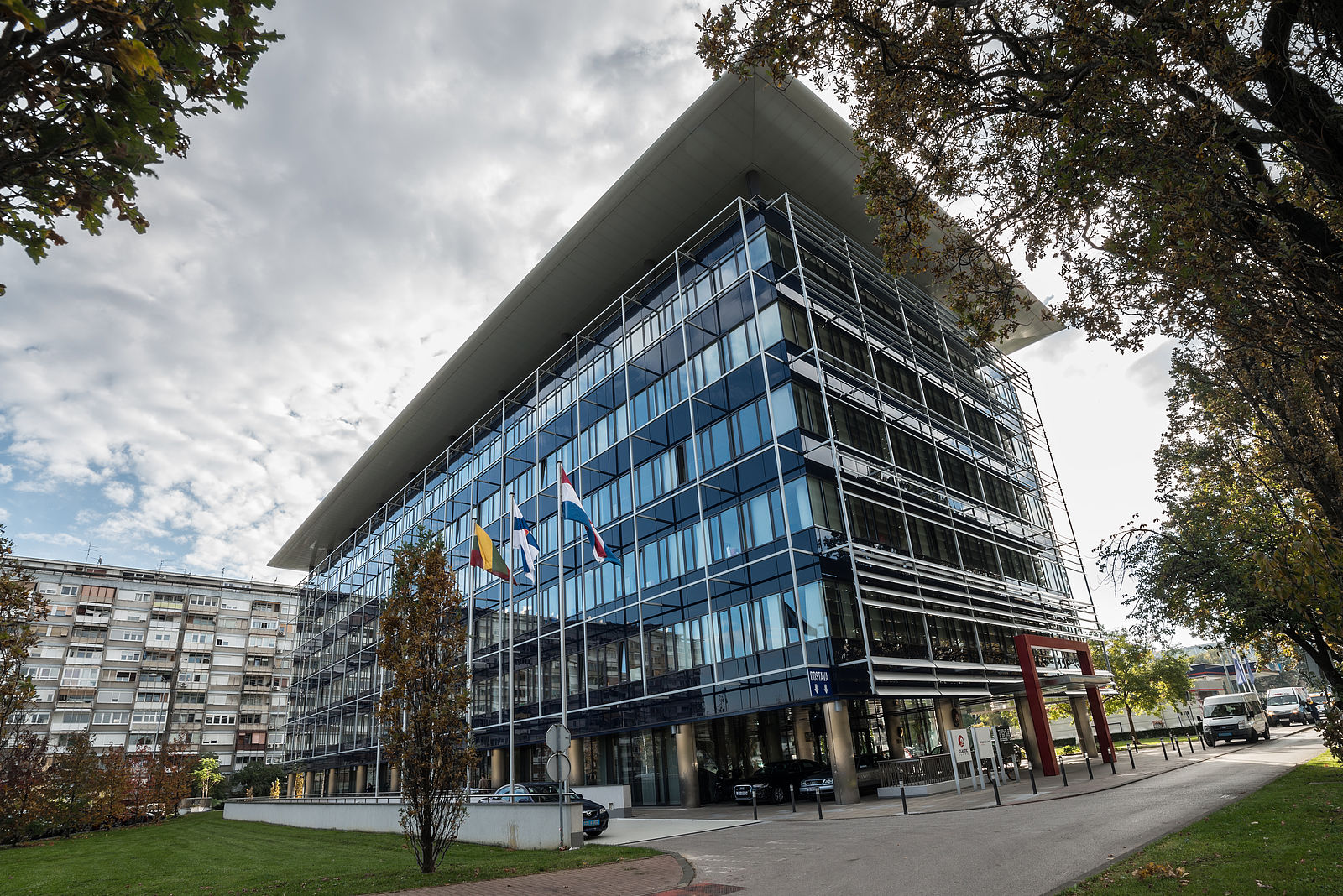 S IMMO office building Eurocenter in Zagreb